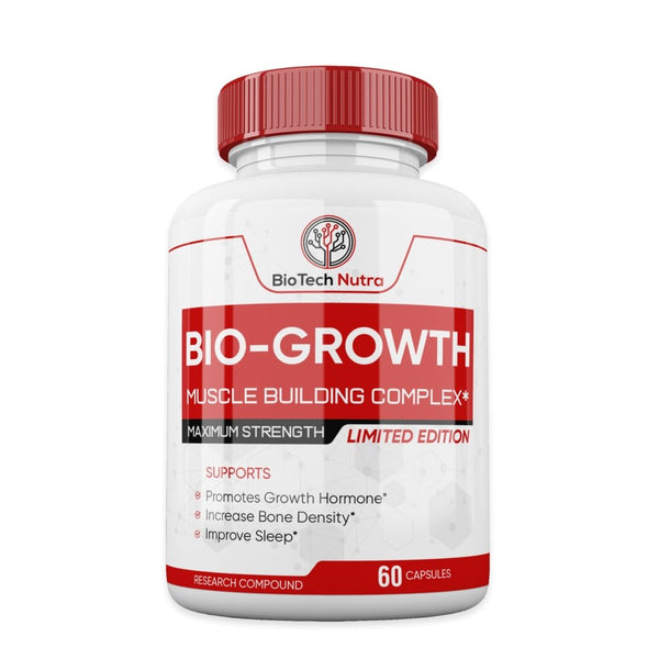 Biotech Nutra - Bio-Growth - BioTech Nutra - Shake Supplements