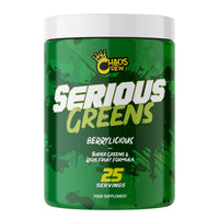 Chaos Crew - Serious Greens - Chaos Crew - Shake Supplements