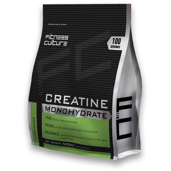 Fitness Culture - Creatine Monohydrate - Fitness Culture - ShakeSupps