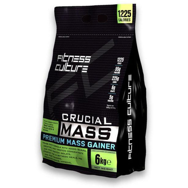 Fitness Culture - Crucial Mass Gainer - Fitness Culture - ShakeSupps