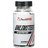 Muscle Rage - Unlimted Fat Burner - Muscle Rage - Shake Supplements
