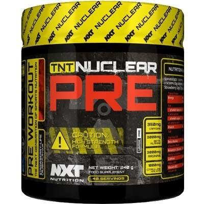 NXT Nutrition - TNT Nuclear PRE - NXT Nutrition - ShakeSupps