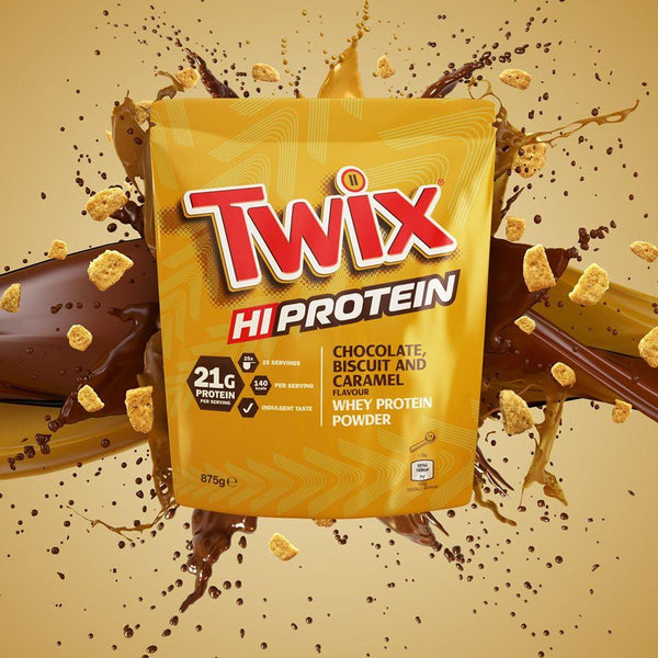 Official Mars™ Twix Whey Protein Powder - Mars™ - Shake Supplements