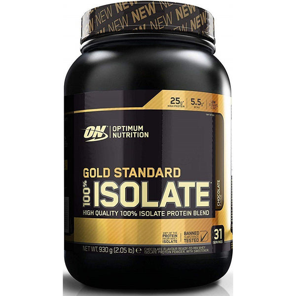Optimum Nutrition - Gold Standard 100% Whey Isolate 930g - Optimum Nutrition - ShakeSupps