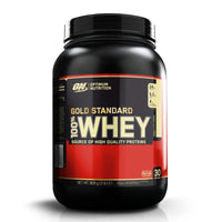 Optimum Nutrition - Gold Standard 100% Whey Protein 908g - Optimum Nutrition - ShakeSupps