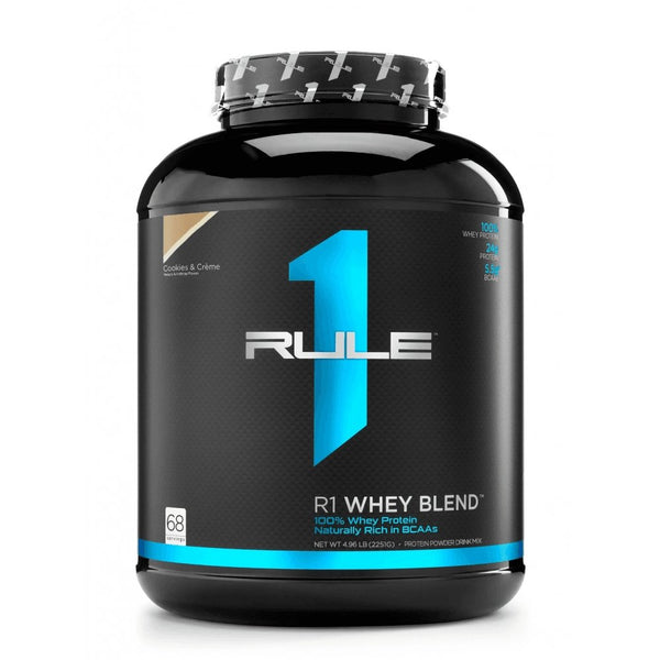 Rule1 - Whey Protein Blend 2.2kg - Rule1 Proteins - Shake Supplements