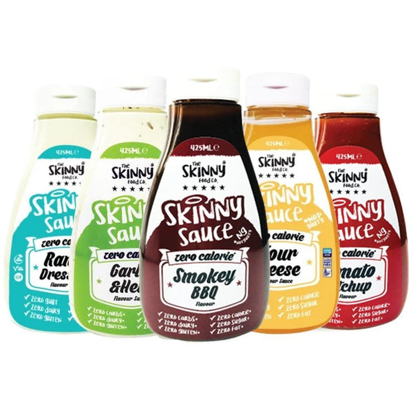 The Skinny Food Co. - Skinny Sauces - The Skinny Food Co. - ShakeSupps
