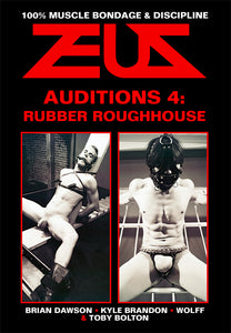 ROUGHHOUSE + AUDITIONS 4 DVD
