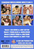 CANADIAN MUSCLEHUNK WRESTLING 9 DVD