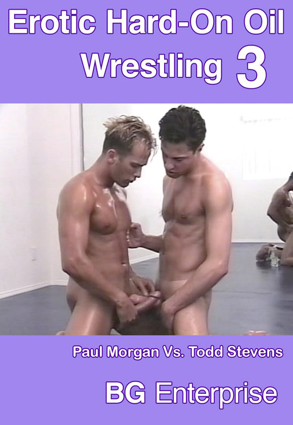 EROTIC HARD-ON OIL WRESTLING 3 DVD
