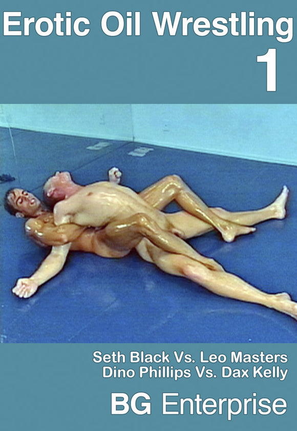 EROTIC OIL WRESTLING 1 DVD