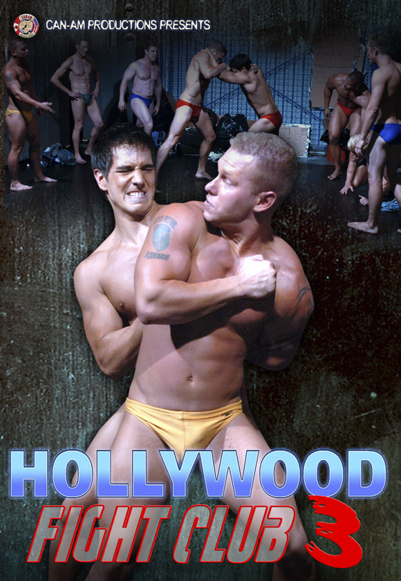 HOLLYWOOD FIGHT CLUB 3 DVD