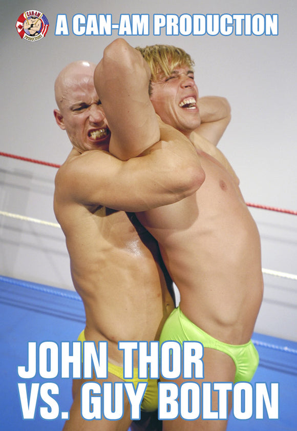 JOHN THOR VS GUY BOLTON DVD