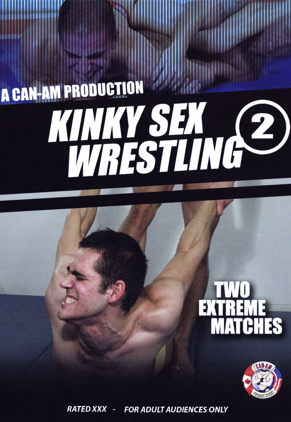 KINKY SEX WRESTLING 2 - DVD