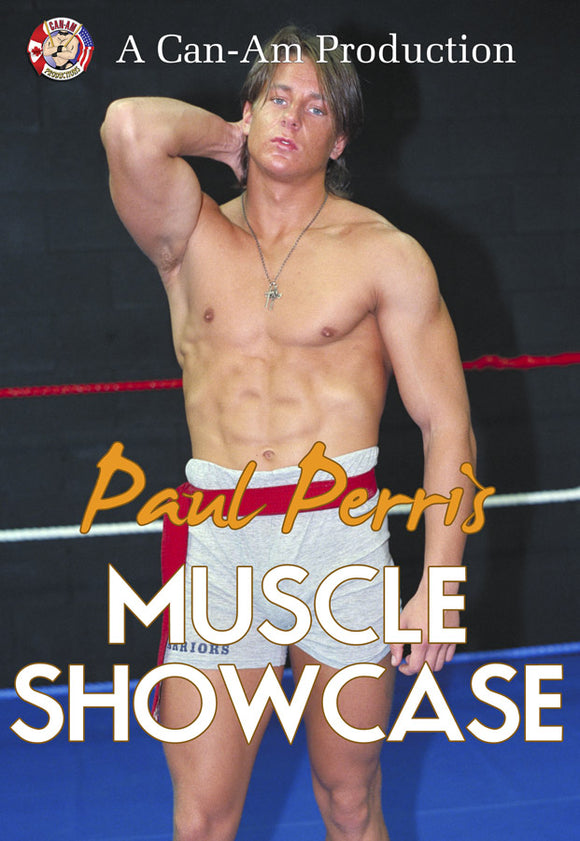 PAUL PERRIS MUSCLE SHOWCASE DVD