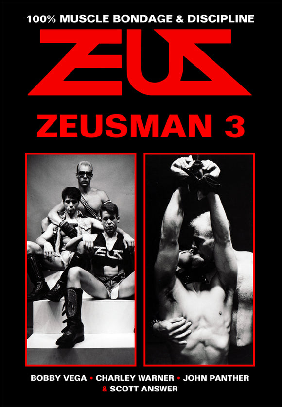 ZEUSMAN THREE DVD