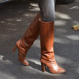 Botas Paris Camel