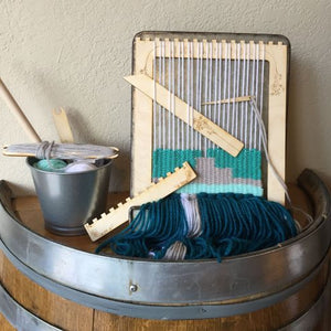 Learn to Weave Pop out Loom & Tools