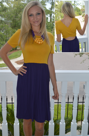 LSU Game Stopper Dress