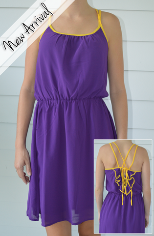 LSU Kickoff Cutie Dress
