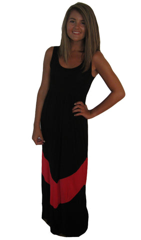 Black/Red Gameday Dress