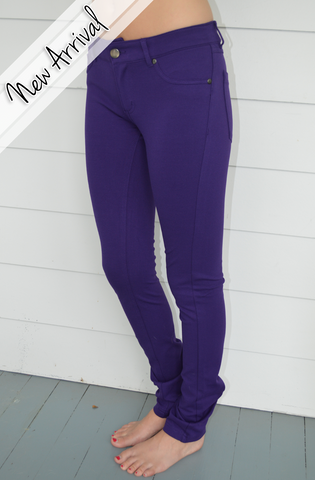 Perfect Purple Jeggings