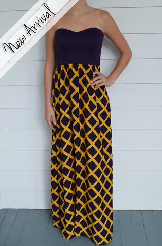 Geaux Tigers Dress