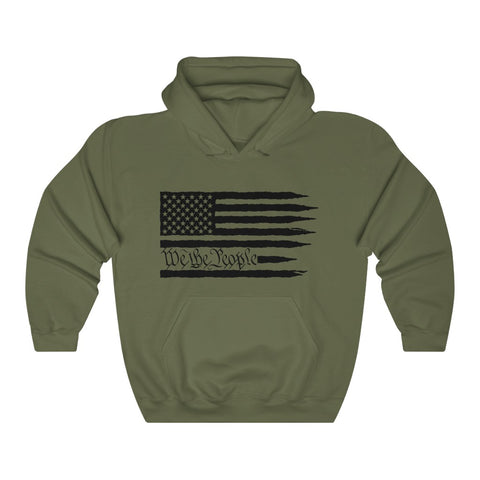 American Flag We The People Hoodie - PoliticHell