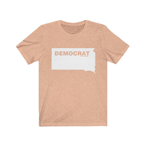 "South Dakota Democrat ""The State Collection"" Short Sleeve Shirt - PoliticHell"
