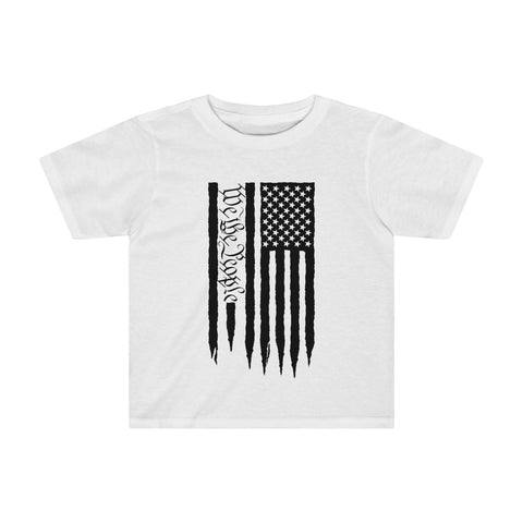 American Flag We The People Kids Tee - PoliticHell