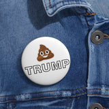 Dump Trump Pin Button - PoliticHell