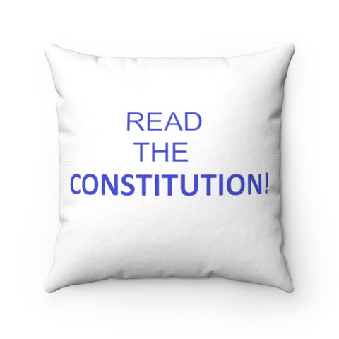 Read The Constitution Pillow - PoliticHell