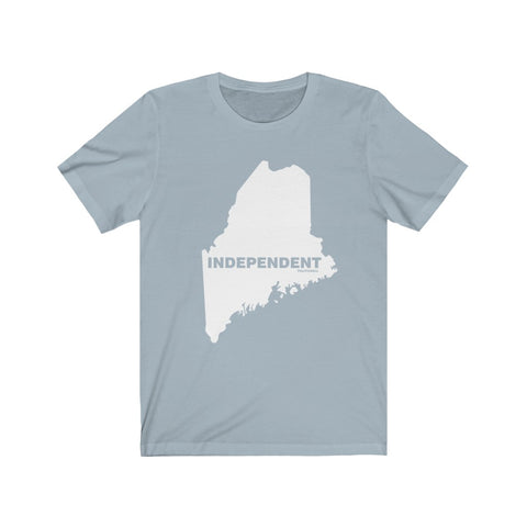 "Maine Independent ""The State Collection"" Short Sleeve Shirt - PoliticHell"