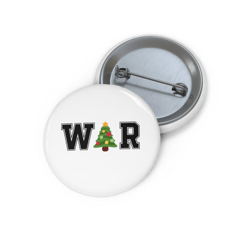 War On Christmas Pin Button - PoliticHell