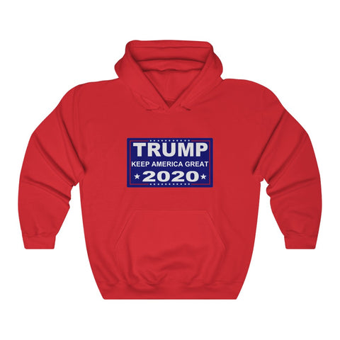 Trump Keep America Great 2020 Hoodie - PoliticHell