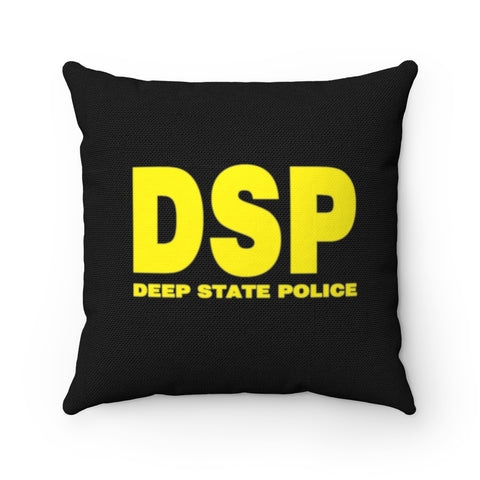 Deep State Police Pillow - PoliticHell