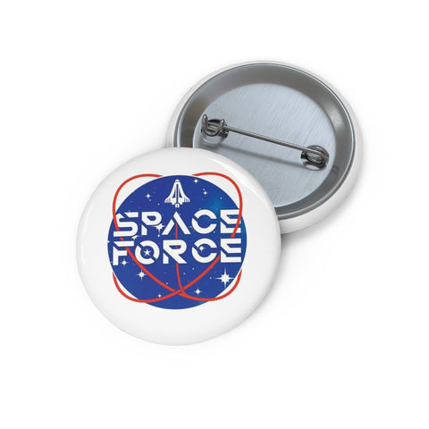 Space Force Pin Button - PoliticHell