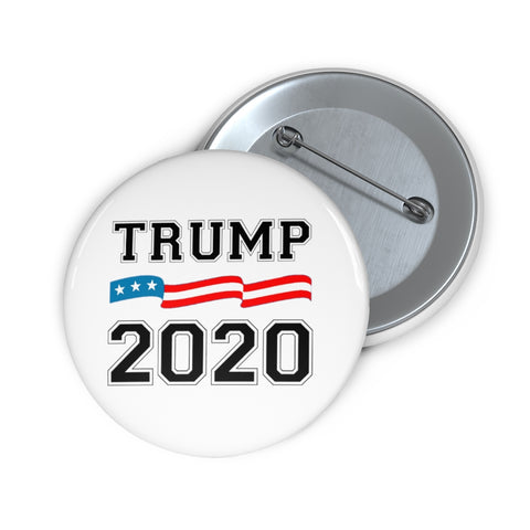 Trump 2020 Pin Button - PoliticHell