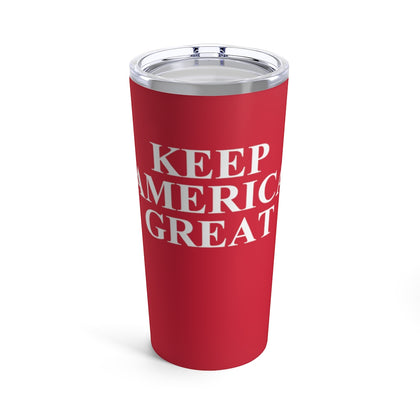 American Flag Camouflage Stripe Tumbler 20 oz - PoliticHell