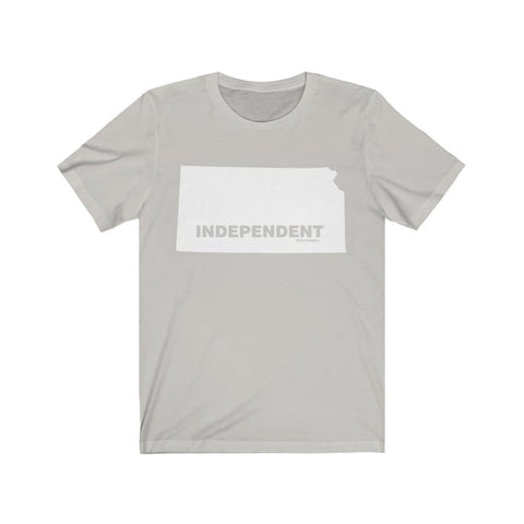 "Kansas Independent ""The State Collection"" Short Sleeve Shirt - PoliticHell"