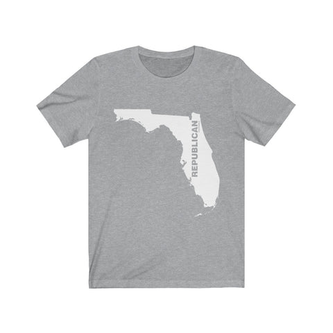 "Florida Republican ""The State Collection"" Short Sleeve Shirt - PoliticHell"