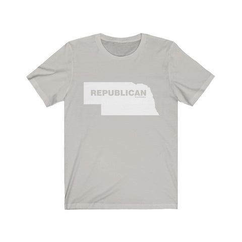 "Nebraska Republican ""The State Collection"" Short Sleeve Shirt - PoliticHell"
