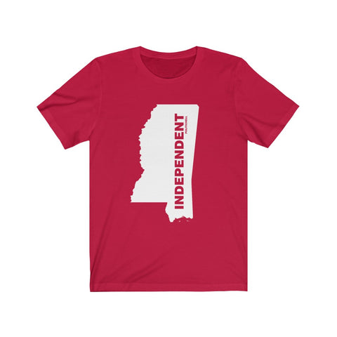"Mississippi Independent ""The State Collection"" Short Sleeve Shirt - PoliticHell"