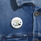 Treasons Greetings Pin Button - PoliticHell