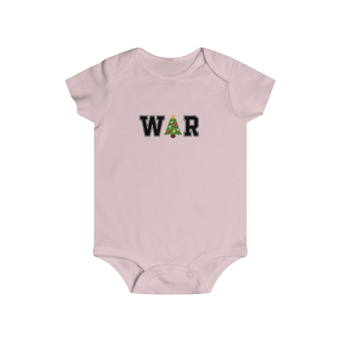 War On Christmas Bottom Snap Onesie - PoliticHell