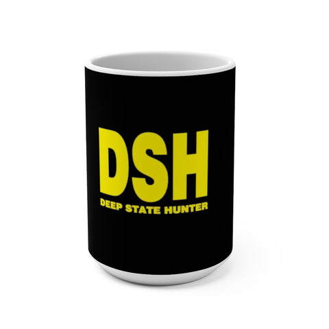 Deep State Hunter Mug 15 oz - PoliticHell