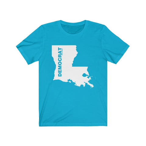 "Louisiana Democrat ""The State Collection"" Short Sleeve Shirt - PoliticHell"