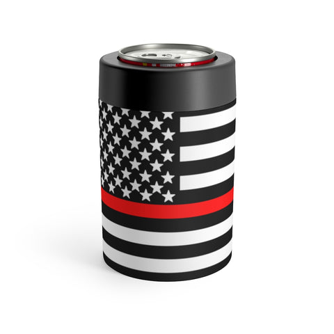 American Flag Red Stripe Can Holder - PoliticHell
