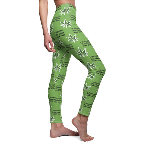 I Support The Green New Deal Leggings - PoliticHell