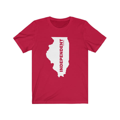 "Illinois Independent ""The State Collection"" Short Sleeve Shirt - PoliticHell"